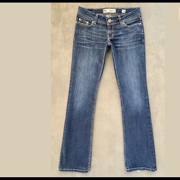 BKE Sabrina Distressed Bootcut VTG Blue Jeans